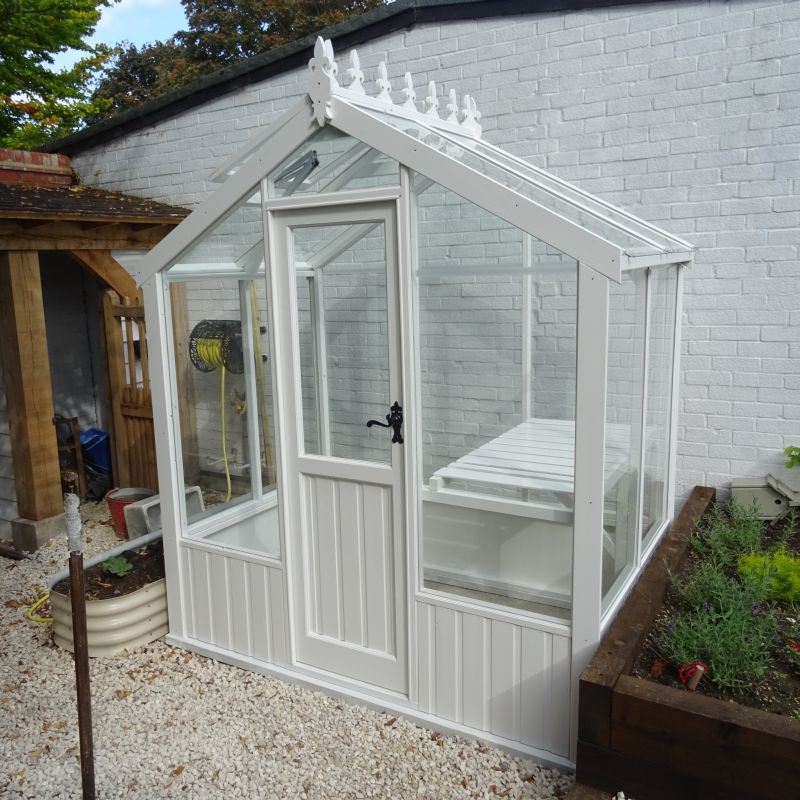 6x4 Clearview Wiltshire Wooden Greenhouse
